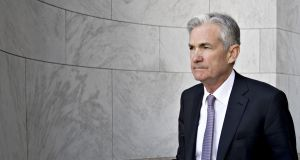 Markets slipped on Tuesday as new US Federal Reserve chairman Jerome Powell indicated that he would raise interest rates gradually in the world's biggest economy
