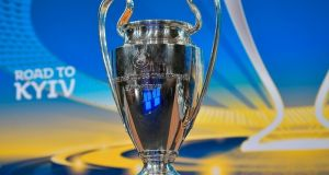 Champions League matches will no longer be at 7.45pm, starting next season. Photograph: Getty Images)