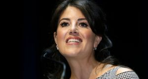 File image of Monica Lewinsky in Cannes, southern France. File photograph: AP Photo/Lionel Cironneau