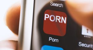 Children are accessing hardcore, frequently violent, porn, roughly around the time they get their own smartphone. Photograph: iStock