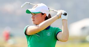 Ireland's Leona Maguire during the Rio Olympics. Photograph: James Crombie/Inpho