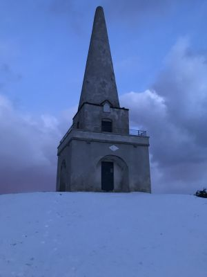 Killiney Hill covered in the white stuff. Photograph: Con Murphy
