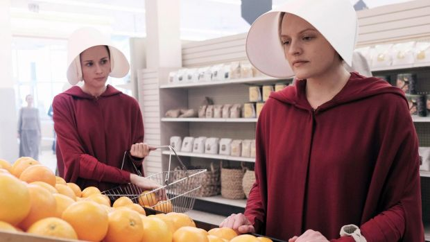 "The Handmaid's Tale: ""I've seen women dressed up as handmaids in Ireland."" Photograph: George Kraychyk/Hulu"