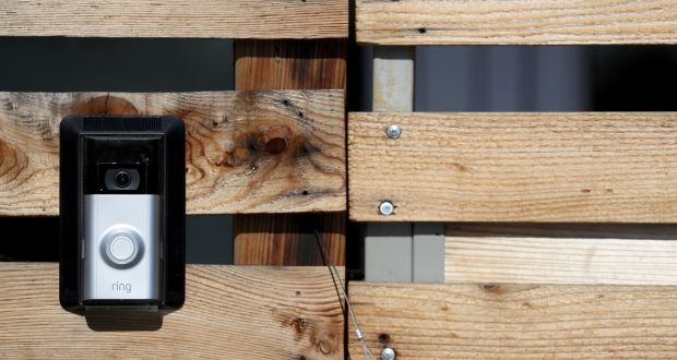 Ringu0027s doorbell features a camera that allows owners to see who has arrived at their porch & Amazon in $1bn deal for internet doorbell company