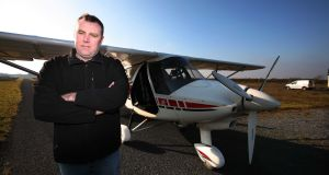 Marc Stanley  at Tibohine Flying Club, Frenchpark, Co Roscommon, says maintaining a positive outlook  helps a lot, as heart disease is both a mental and physical condition. Photograph:  Brian Farrell