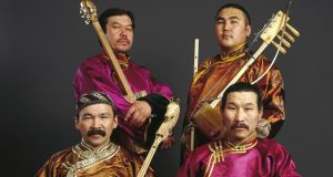 Huun-Huur-Tu: celebrated Mongolian throat singers