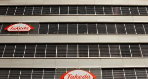 Takeda first set up operations in Ireland in 1997, manufacturing products for global markets. Photograph: Reuters