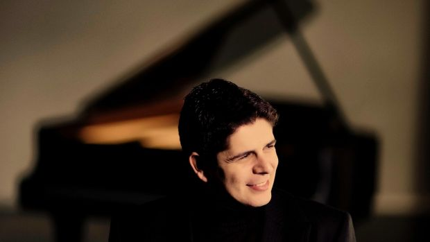 Solo pianist Javier Perianes can be heard at the NCH with conductor Jaime Martin. Photograph: Marco Borggreve