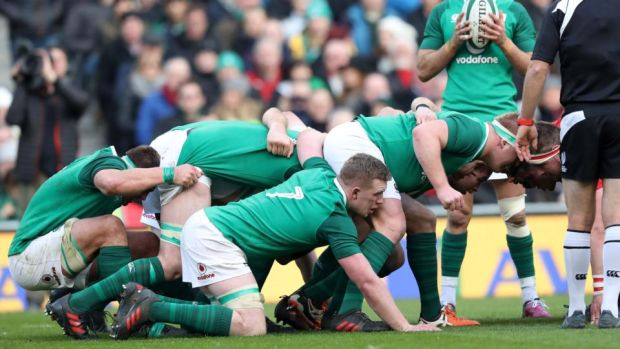 Ireland openside Dan Leavy. Photograph: Billy Stickland/Inpho