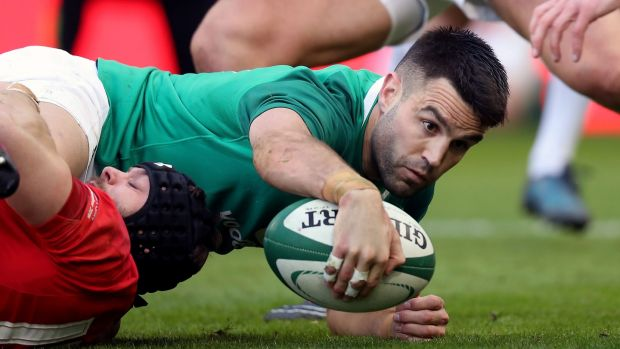 Ireland's number nine Conor Murray. Billy Stickland/Inpho