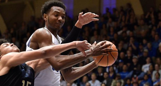 3323e4685525 Wendell Carter Jnr of the Duke Blue Devils. His mother is named in a federal