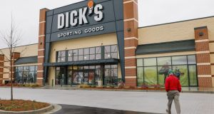 A Dick's Sporting Goods store in Georgia. Photograph: Epa