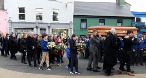 Funeral of Aodhán O'Connor, Dingle, Co Kerry. Photograph:  Domnick Walsh