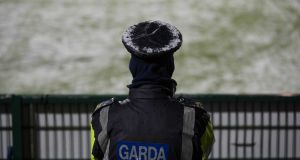 Gardaí expect crime to significantly decrease during the snowy and cold weather forecast over the coming days. Photograph: Morgan Treacy/Inpho