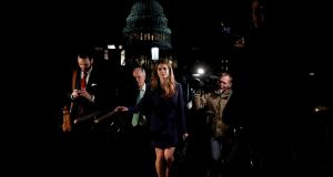 "White House communications director Hope Hicks: ""I wish the President and his administration the very best."" Photograph: Reuters"
