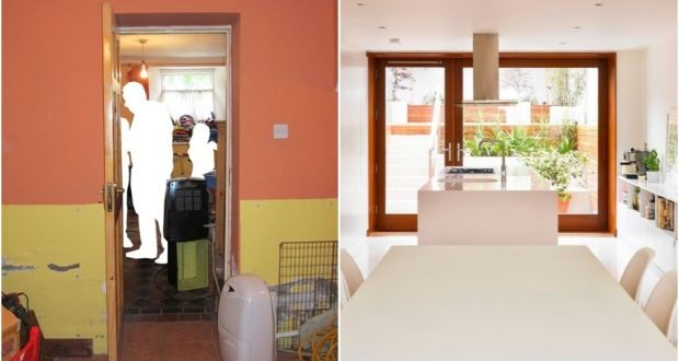 before and after architectural expertise in this dublin terrace
