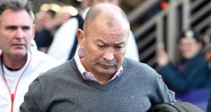 "Scottish Rugby has described the abuse suffered by Eddie Jones by a number of Scotland fans as ""disgusting behaviour"". Photo: Ian Rutherford/PA Wire"