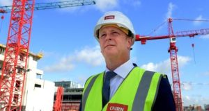 Cairn Homes chief executive Michael Stanley said the company planned to sell non-core sites. File photograph: Cyril Byrne/The Irish Times
