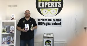 Andrew Hennessy of The Headlice Experts