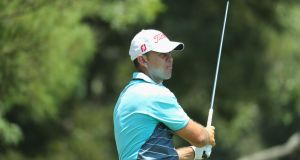 Louis De Jager leads by a stroke in South Africa. Photograph: Warren Little/Getty