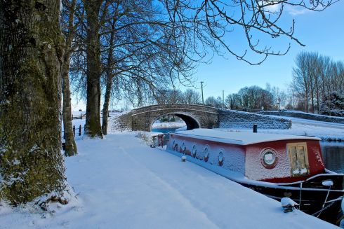 Snowbarge, Tullamore. Photograph: Colin  Jones