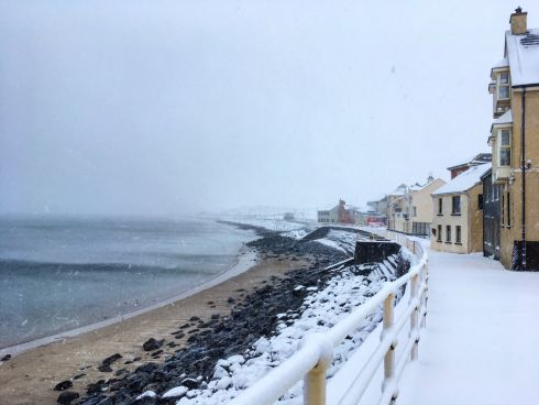 Snow city - Lahinch. Photogrpah: Alison  Derham