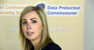 Data Protection Commissioner Helen Dixon, who ruled that Nama  must  provide builders Michael and John O'Flynn with personal information it holds on them. Photograph: Cyril Byrne