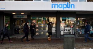 British electricals retailer Maplin joined Toys'R'Us UK in falling into administration this week. Photograph: Ben Stansall/AFP/Getty Images