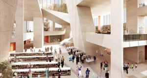 There are ambitious plans to develop the area as a literary hub, with a major new Central Library, designed by Grafton Architects