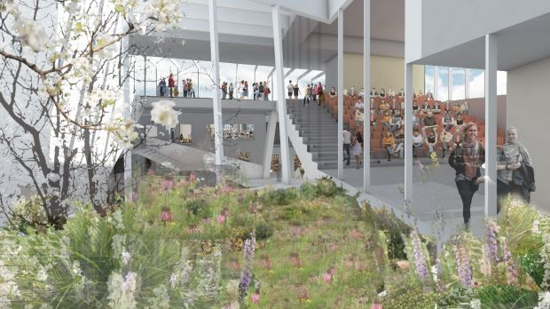 There are ambitious plans to develop the area as a literary hub, with a major new Central Library, designed by Grafton Architects.