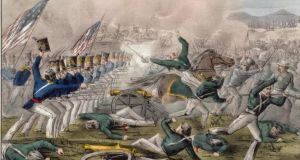 It was at the Battle of Churubusco, on August 20th 1847, that the San Patricios battalion acquired its legendary status in Mexico. Image: J. Cameron/Wikicommons