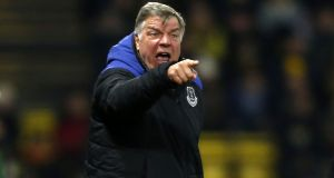 "Sam Allardyce:  ""The expectation is the same as Newcastle and the same as West Ham, but Everton have won a lot more in past years."" Photograph: Ian Kington/AFP/Getty Images"