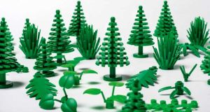 Bioplastic Lego: the new parts can be recycled many times but are unlikely to be 100 per cent biodegradable