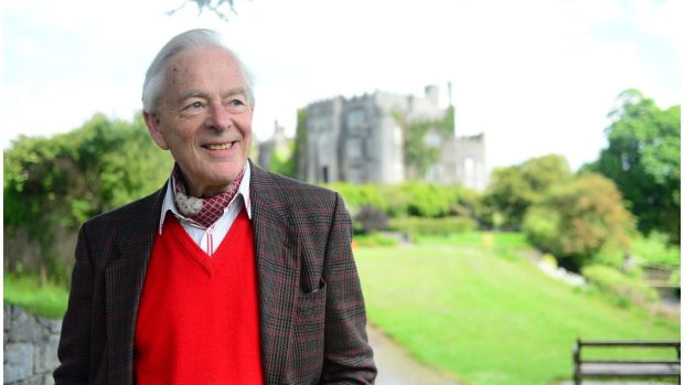Brendan Parsons, the 7th Earl of Rosse: recalled his parents' lavish dinner parties at Birr Castle, with suckling pig and Chateau d'Yquem. Photograph: Bryan O'Brien