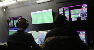 The VAR system has been trialled in a number of countries including England. Photograph: Getty Images