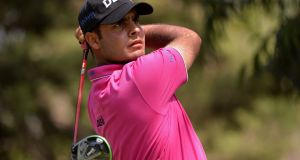 Shubhankar Sharma: takes a two-shot lead into the final round of the  of the WGC-Mexico Championship Championship at at Club de Golf Chapultepec. Photograph: Orlando Ramirez-USA TODAY Sports
