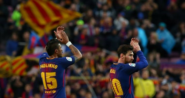 863c651d63433 Barcelona beat Atletico Madrid thanks to Messi's 600th goal