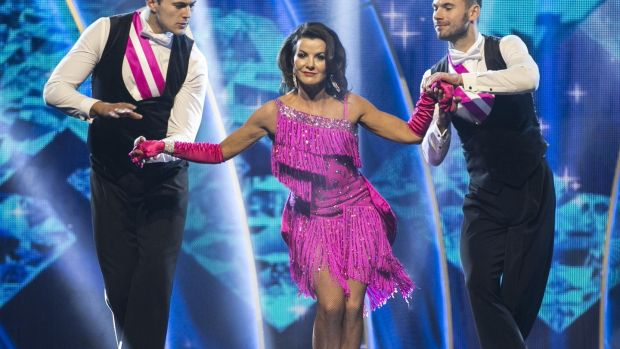 Comedian and actor Deirdre O'Kane performing on Dancing with the Stars. Photograph: Kyran O'Brien