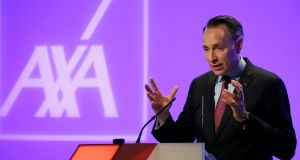 Less than two years since taking over Axa's top job, chief executive Thomas Buberl is ramping up dealmaking. Photograph: Pascal Rossignol/Reuters