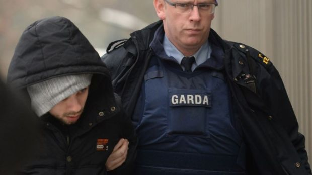 Edger Cesynas of Silken Park Drive, Citywest, was charged with the theft of groceries worth €50 from Lidl. Photograph: Dara Mac Donaill/The Irish Times