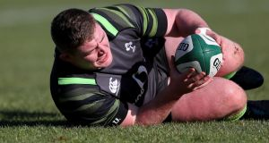 Tadhg Furlong looks set to return to the Irish team for this weekend's clash with Scotland. Photograph: Dan Sheridan/Inpho