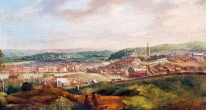 View of Cork from Audley Place, John Butts, 1750. Photograph: Crawford Art Gallery, Cork