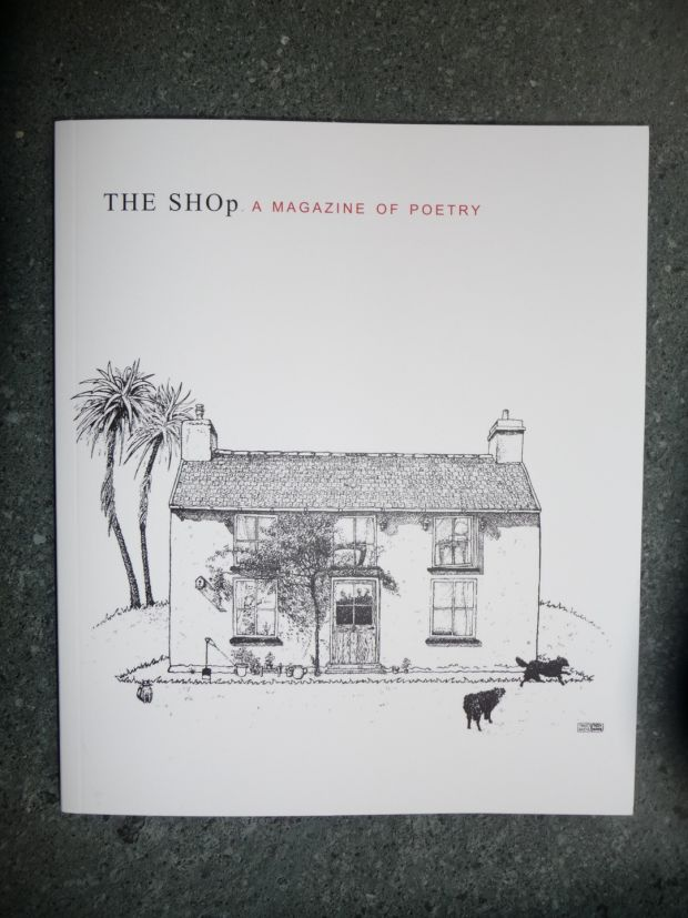 John Wakeman, founder of acclaimed poetry magazine 'The SHOp
