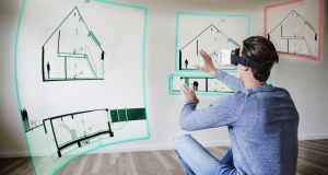 Blurred lines: augmented reality seamlessly blends reality and virtual, taking us even deeper into a world where the lines between reality and the artificial continue to blur