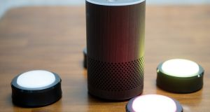 Amazon's smart assistant Alexa  is built into its Echo devices, ranging from the budget-friendly Echo Dot to the smart home hub Echo Plus. Photograph: Daniel Berman/Bloomberg via Getty Images