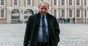 Sgt Maurice McCabe at the Disclosures tribunal in Dublin Castle, Dublin. Photograph:  Gareth Chaney/Collins