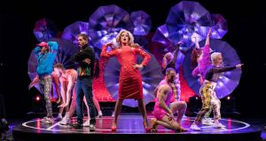 Riot in New York: Panti and friends in Thisispopbaby's at the NYU Skirball Center theatre. Photograph: Ian Douglas