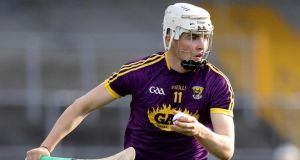Wexford's Rory O'Connor: likely to get a start against Kilkenny on Sunday after impressive performance as a substitute against Clare. Photograph: Inpho/Tommy Dickson