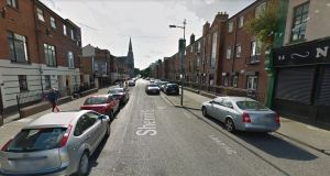 The incident took place at about 10.35pm in the Sheriff Street area. Photograph: Google