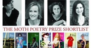 Shortlisted poets: Natalya Anderson, left,  Audrey Molloy, Cheryl Moskowitz and Teresa Ott
